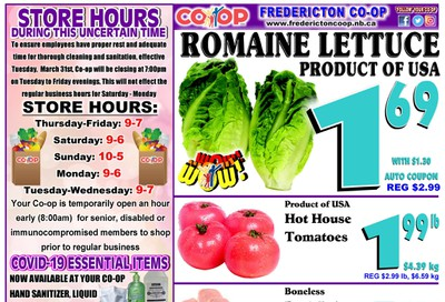 Fredericton Co-op Flyer May 28 to June 3