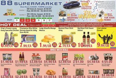 88 Supermarket Flyer May 21 to 27
