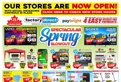 Factory Direct Flyer May 27 to June 3