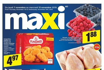 Maxi Flyer November 7 to 13
