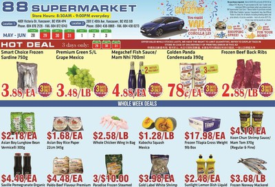 88 Supermarket Flyer May 28 to June 3