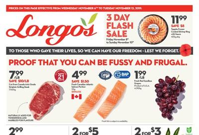 Longo's Flyer November 6 to 12