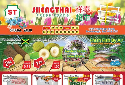Shengthai Fresh Foods Flyer May 29 to June 11
