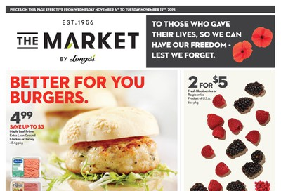 The Market by Longo's Flyer November 6 to 12