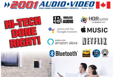 2001 Audio Video Flyer May 29 to June 11