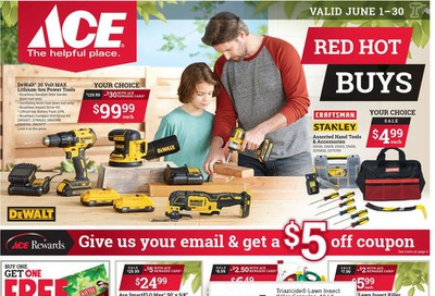 ACE Hardware Weekly Ad & Flyer June 1 to 30