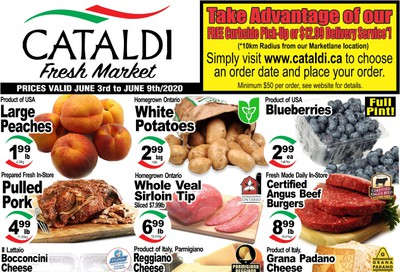 Cataldi Fresh Market Flyer June 3 to 9