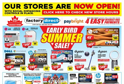 Factory Direct Flyer June 3 to 10