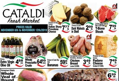 Cataldi Fresh Market Flyer November 6 to 12
