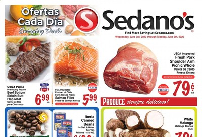 Sedano's Weekly Ad & Flyer June 3 to 9