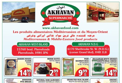 Akhavan Supermarche Flyer June 3 to 9