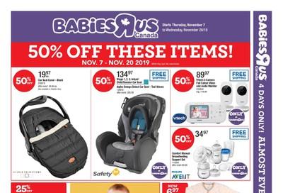Babies R Us Flyer November 7 to 20
