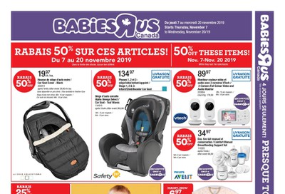 Babies R Us (QC) Flyer November 7 to 20