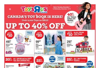 Toys R Us Flyer November 7 to 13