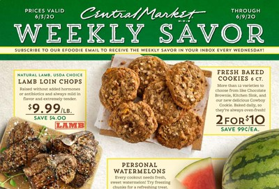Central Market Weekly Ad & Flyer June 3 to 9