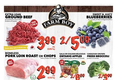 Farm Boy (Cornwall, Kingston, London, Oakville, Ottawa, Pickering, Toronto and Whitby) Flyer November 7 to 13