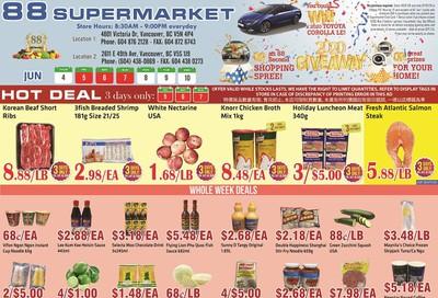 88 Supermarket Flyer June 4 to 10