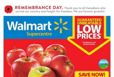 Walmart Supercentre (Atlantic) Flyer November 7 to 13