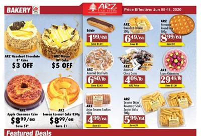 Arz Fine Foods Flyer June 5 to 11