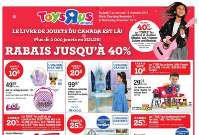 Toys R Us (QC) Flyer November 7 to 13