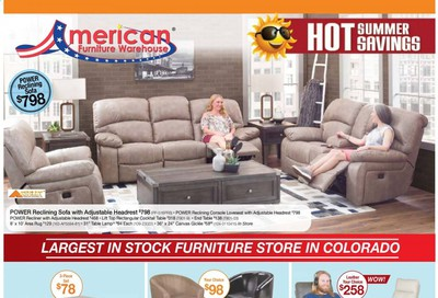American Furniture Warehouse Weekly Ad & Flyer June 3 to 16