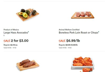 Whole Foods Market (West) Flyer November 6 to 12