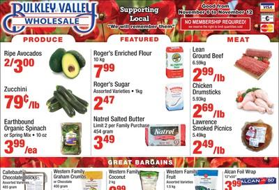 Bulkley Valley Wholesale Flyer November 6 to 12