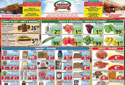 Akhavan Supermarche Flyer November 6 to 12