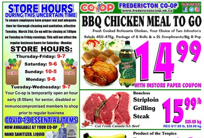 Fredericton Co-op Flyer June 11 to 17