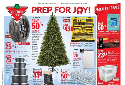 Canadian Tire (West) Flyer November 8 to 14