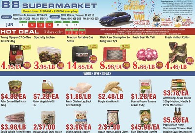 88 Supermarket Flyer June 11 to 17