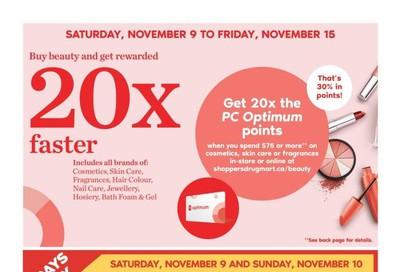 Shoppers Drug Mart (West) Flyer November 9 to 14