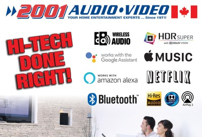 2001 Audio Video Flyer June 12 to 18