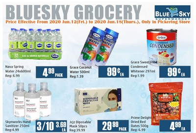 Blue Sky Supermarket (Pickering) Flyer June 12 to 18