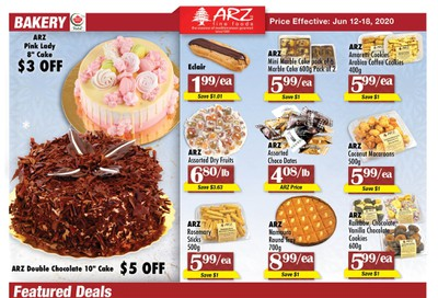 Arz Fine Foods Flyer June 12 to 18
