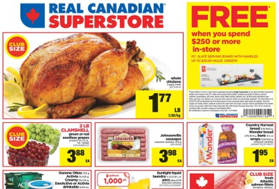 Real Canadian Superstore (West) Flyer November 8 to 14