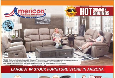 American Furniture Warehouse Weekly Ad & Flyer June 7 to 13