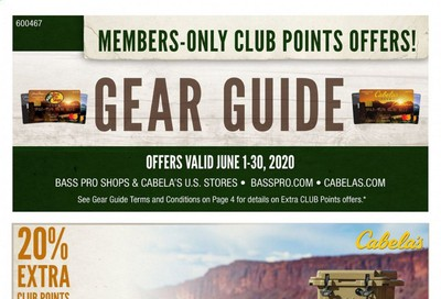 Cabela's Weekly Ad & Flyer June 1 to 30
