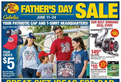 Bass Pro Shops Weekly Ad & Flyer June 11 to 24