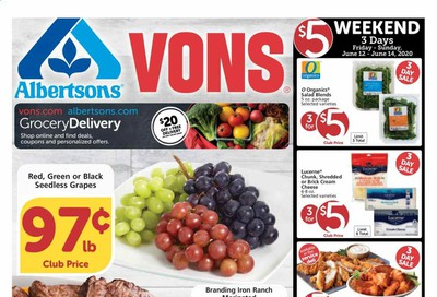 Albertsons Weekly Ad & Flyer June 10 to 16