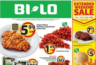 BI-LO Weekly Ad & Flyer June 10 to 16