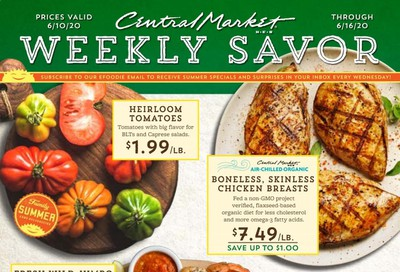 Central Market Weekly Ad & Flyer June 10 to 16