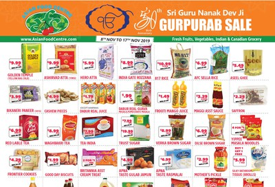 Asian Food Centre Flyer November 8 to 17