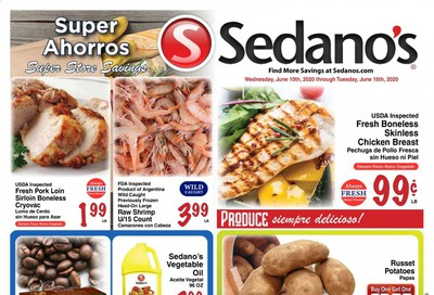 Sedano's Weekly Ad & Flyer June 10 to 16