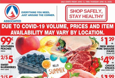 Associated Supermarkets Weekly Ad & Flyer June 12 to 18