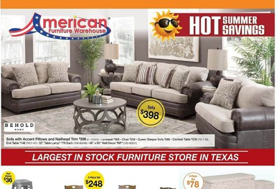 American Furniture Warehouse Weekly Ad & Flyer June 14 to 20