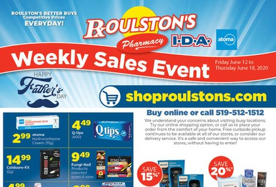 Roulston's Pharmacy Flyer June 12 to 18