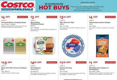 Costco Weekly Ad & Flyer June 13 to 21