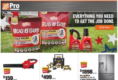 The Home Depot Weekly Ad & Flyer June 15 to 22