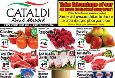 Cataldi Fresh Market Flyer June 17 to 23